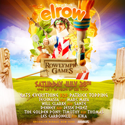 elrow NYC: Rowlympic Games