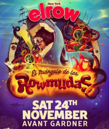 elrow NYC: The Rowmuda Triangle