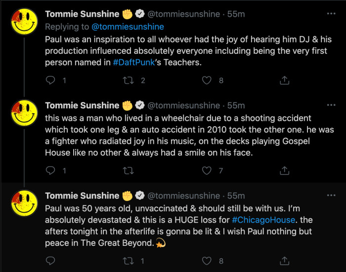 Tommie Sunshine - PJ Death