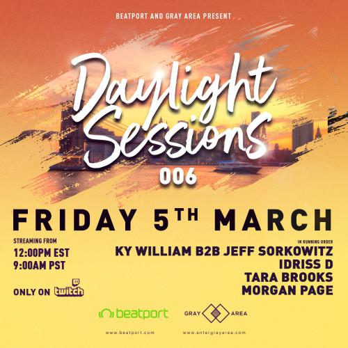 Daylight Sessions 06 w/ Morgan Page, Tara Brooks, Idriss D, Ky William b2b Jeff Sorkowitz