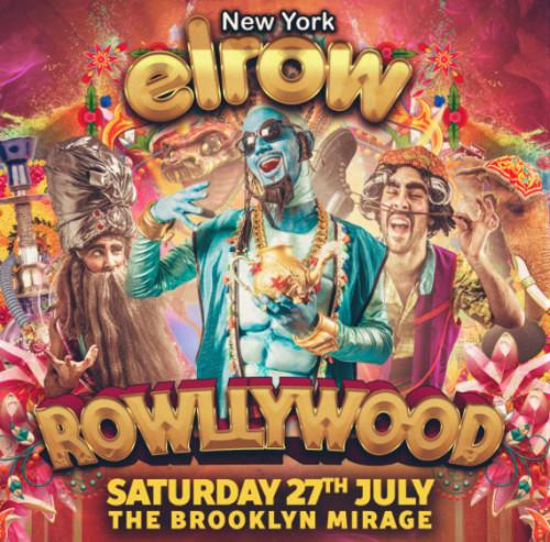 elrow NYC: Rowllywood Open Air Festival