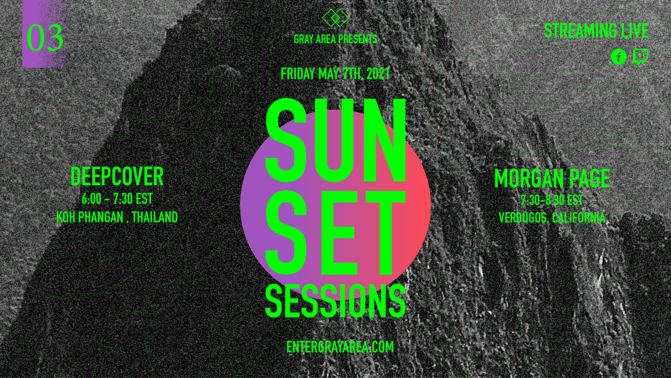 Sunset Sessions 03 w/ Morgan Page & deepcover