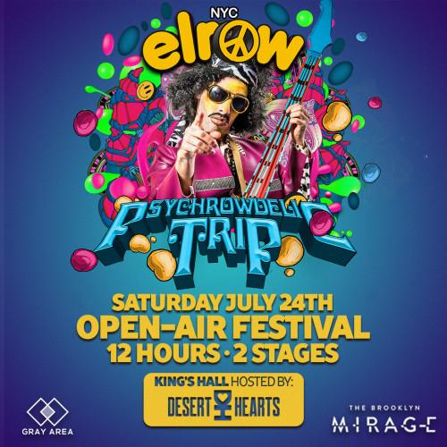 elrow NYC: Psychrowdelic Trip | Open Air Festival