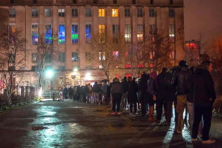 Long Lines at Berghain Have Returned