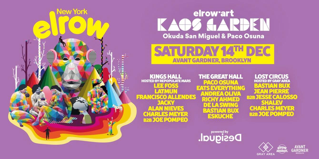 elrow'art - kaos garden