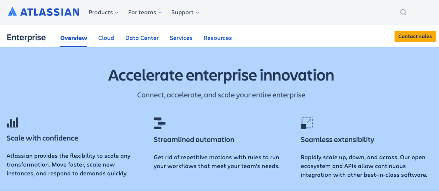"Enterprise Image, Blog post:""Atlassian Cloud is not for us"" - Or is it?"