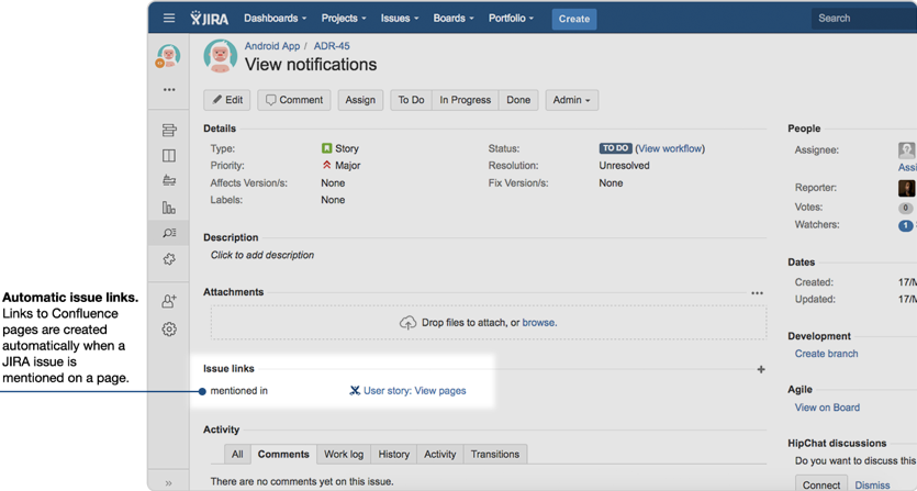 Reboot your Jira Blog Post- Jira link Confluence