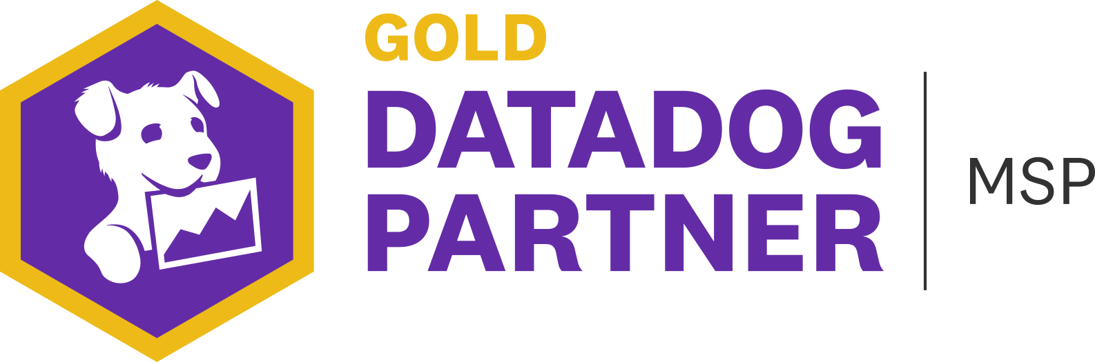 DataDog Gold Partner Badge