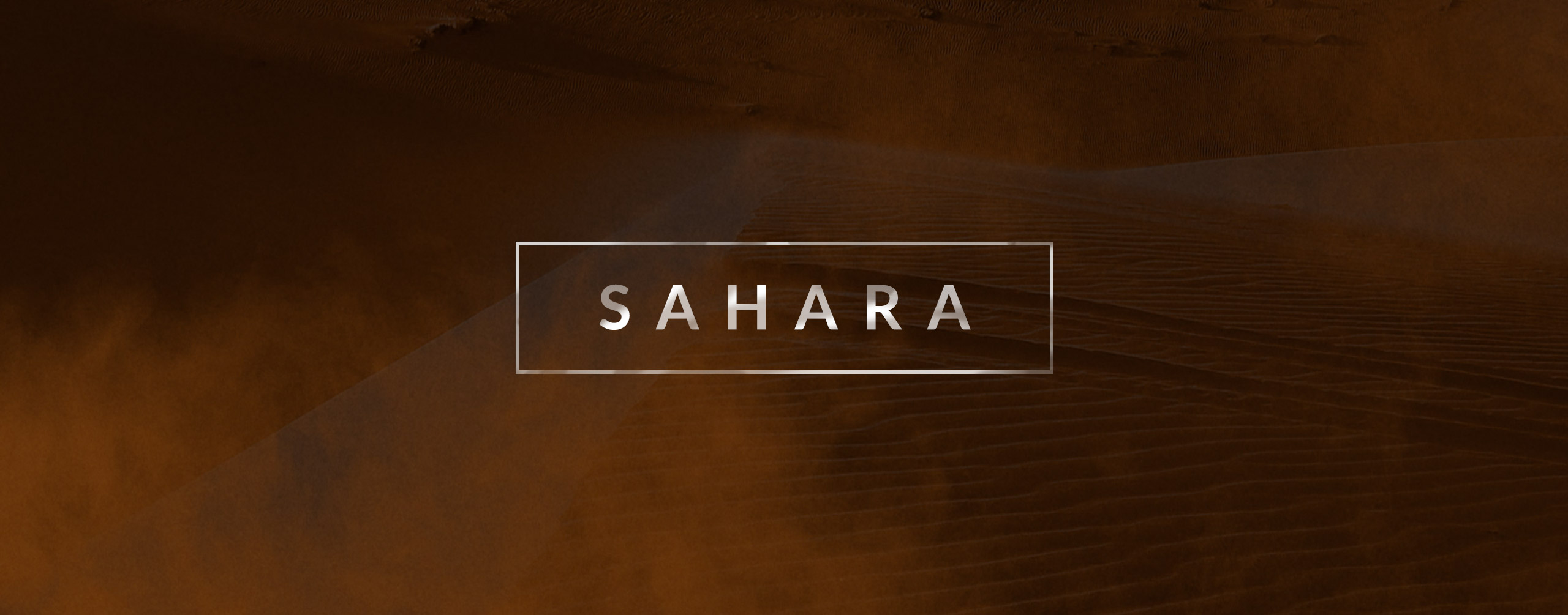 Sahara - Sand and Dust Effects
