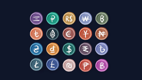 From National Currencies to Cryptocurrencies: FREE Currency Clip Arts