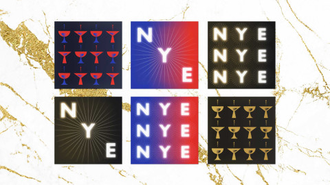 FREE New Year's Eve eCards with a Glamorous Vintage Style