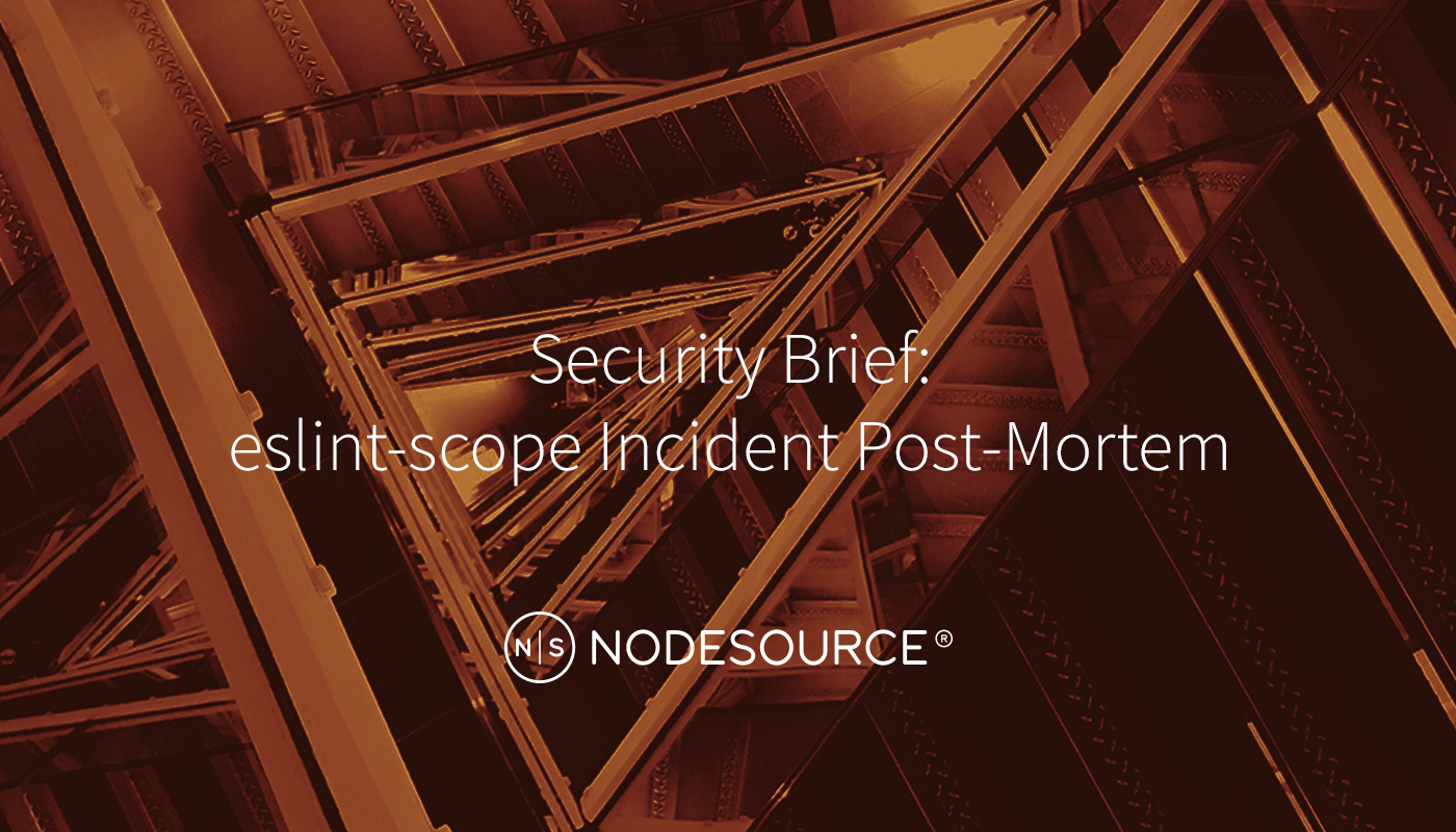 A High Level Post Mortem of the eslint-scope Security Incident