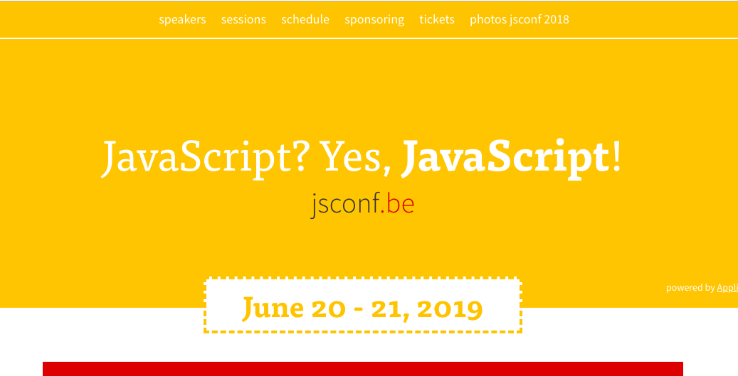 JSConf Be