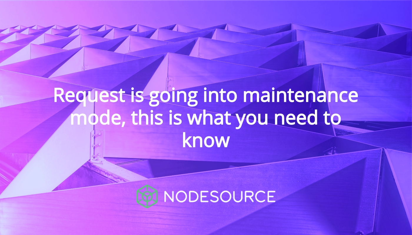 Request is going into maintenance mode, this is what you need to know