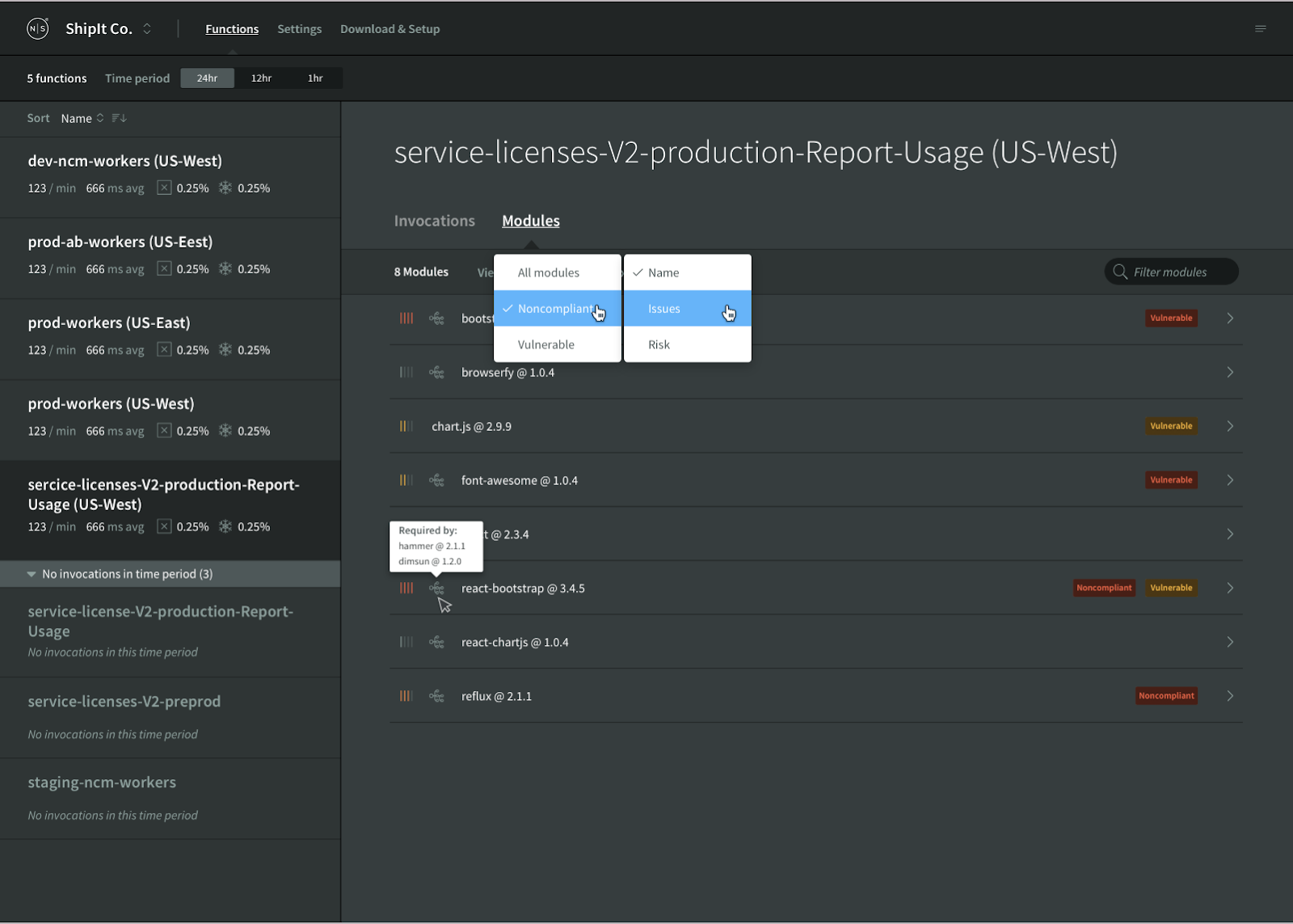 Announcing Module Risk and Security for AWS Lambda