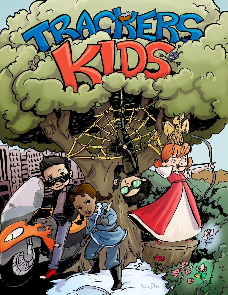 Trackers Kids Issue 1 Cover