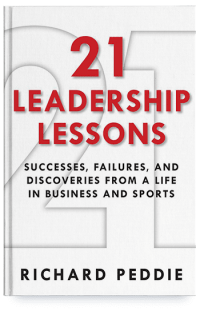 Image of 21 Leadership Lessons book cover