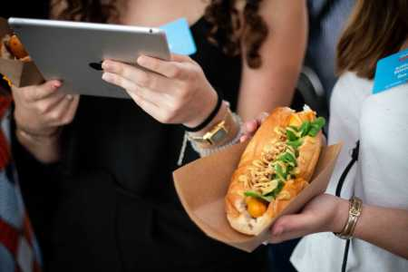 hot-dog et iPad
