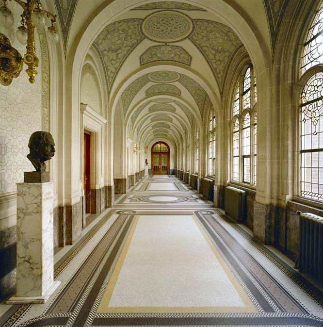 Interior of the Peace Palace