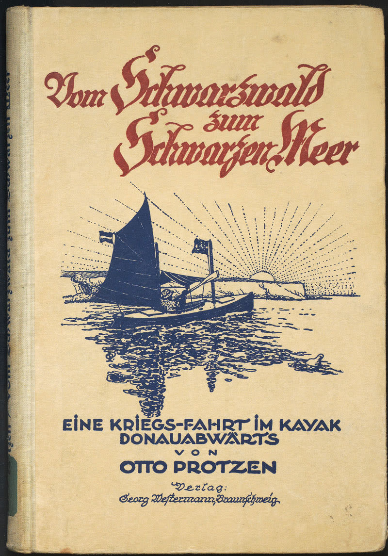 Book by Otto Protzen about a kayak trip down the Danube during World War II