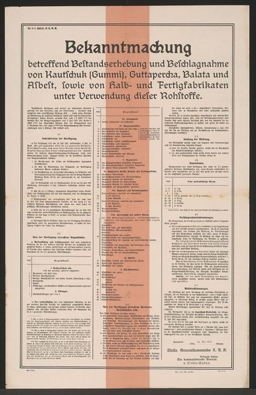 poster with a lot of text in German