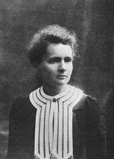 Portrait of Marie Curie [1867 - 1934], Polish chemist, Wellcome Library, London. Copyrighted work available under Creative Commons by-nc 2.0 UK