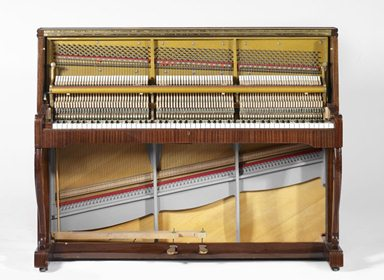 Upright pianoforte, Sauter, courtesy of Cité de la musique and MIMO - Musical Instrument Museums Online, under a CC BY-NC-SA 3.0 licence