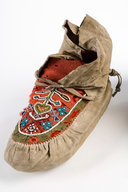 Florence Nightingale's Moccasins. Wellcome Collection, United Kingdom, CC BY.