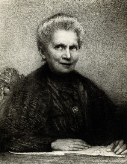 'Portrait of Marie Curie [1867 - 1934], Polish chemist', Wellcome Library, London. Copyrighted work available under Creative Commons by-nc 2.0 UK.