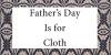 父亲节是布料形象