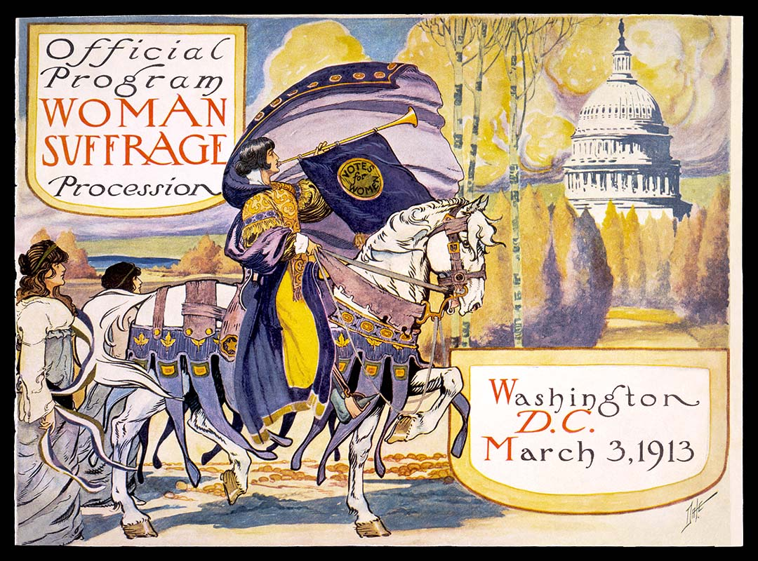 Official program - Woman suffrage procession March 3, 1913