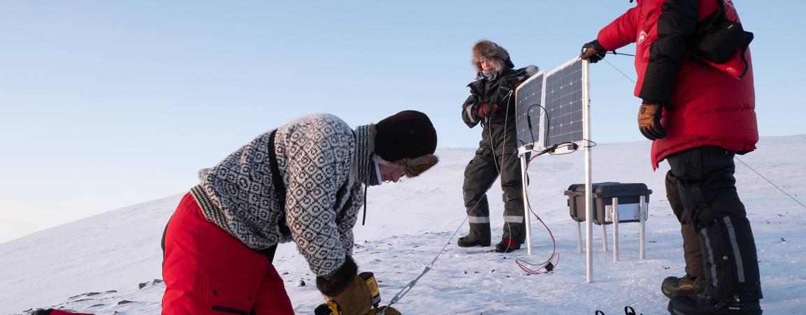 Maternal den study in Svalbard, Norway