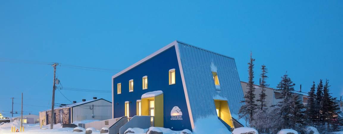 Polar Bears International House in Churchill, Manitoba