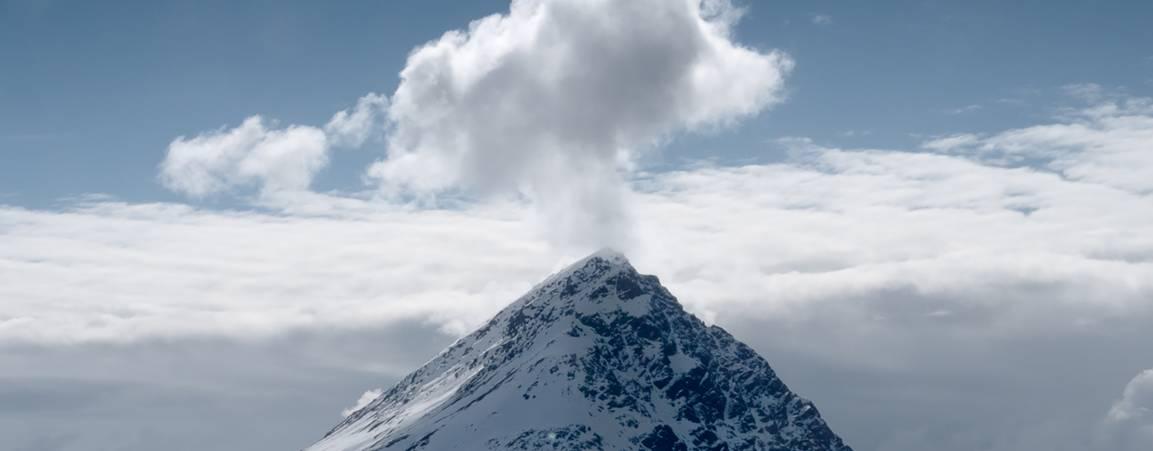 Mountain in Svalbard, Norway
