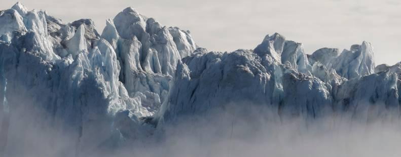 Glacier in the Arctic