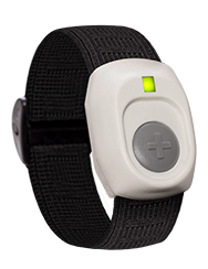 Wear the LivingWell Companion Home on your wrist with the optional wrist strap.