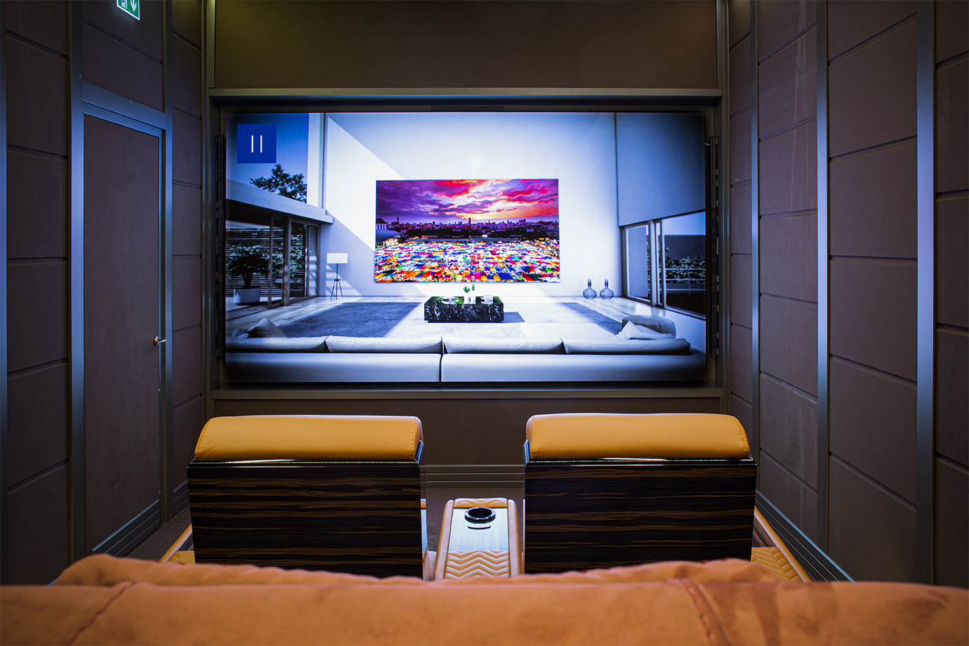 Samsung home cinema luxury