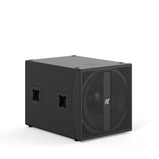 "K-array Thunder-KMT21 Multi-tasking dual 18"" self-powered subwoofer with onboard DSP - front"