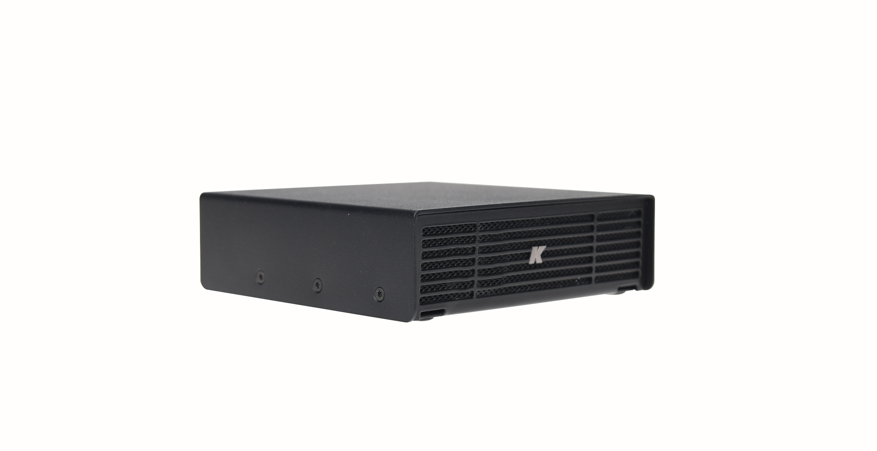Kommander-KA02: Stainless steel 200W in 2U rack amplifier and
