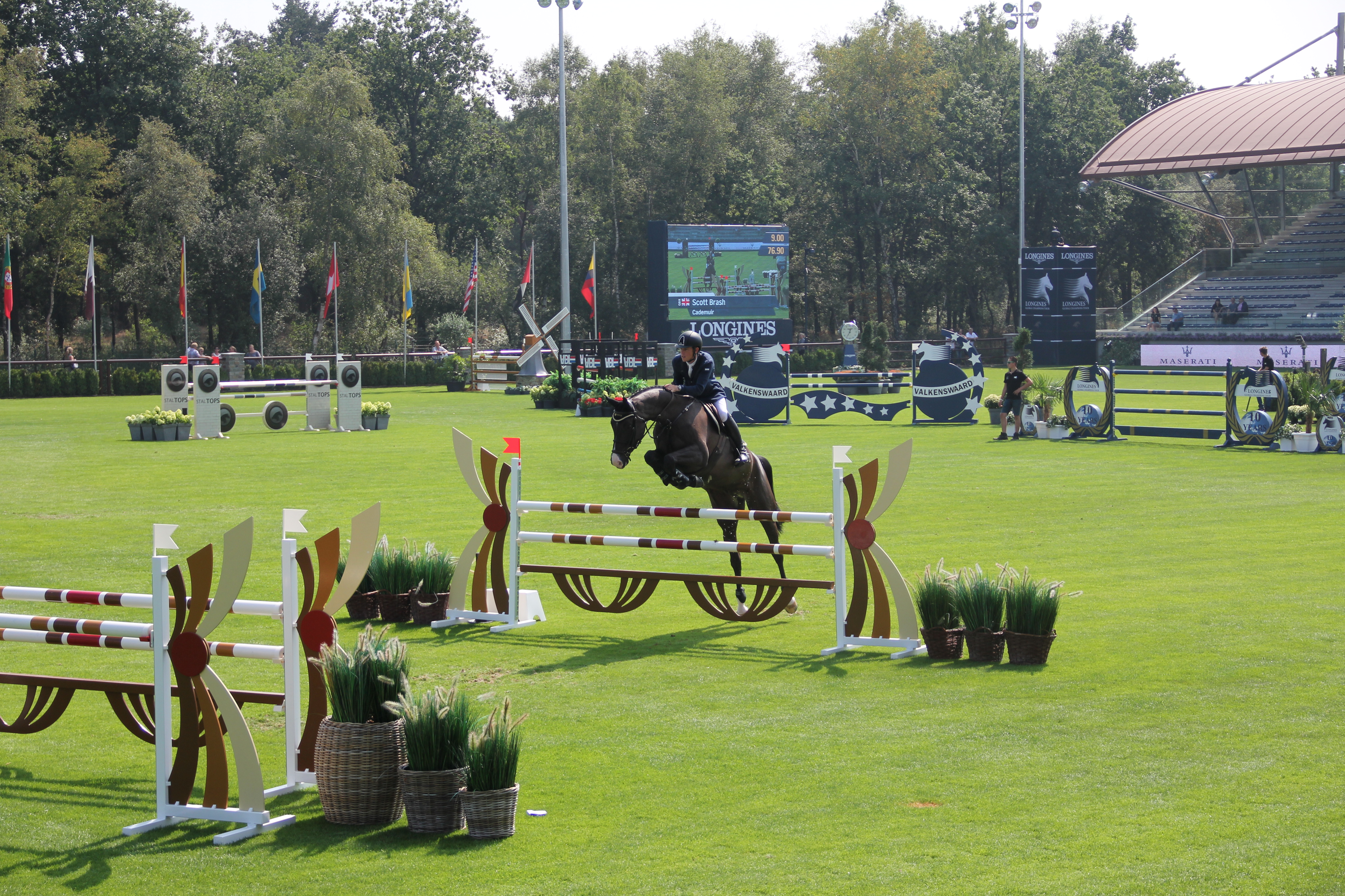 International Equestrian Center at the Finish Line with K