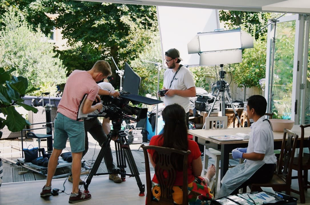 Video commercial production