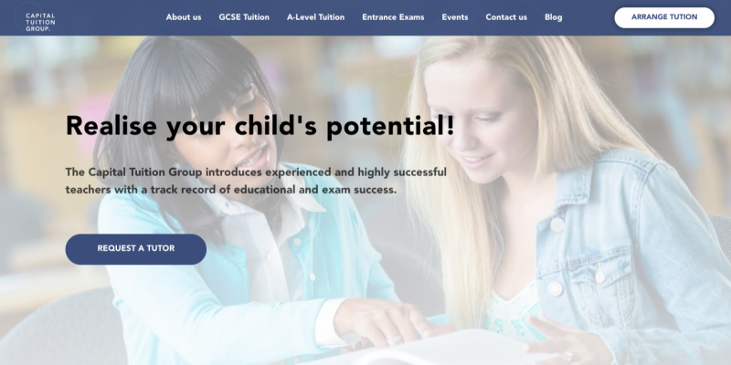 Capital Tuition Group Website
