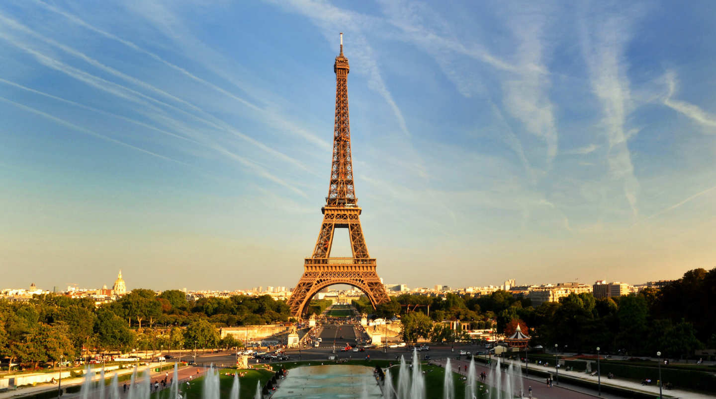 Eiffel Tower - banner image