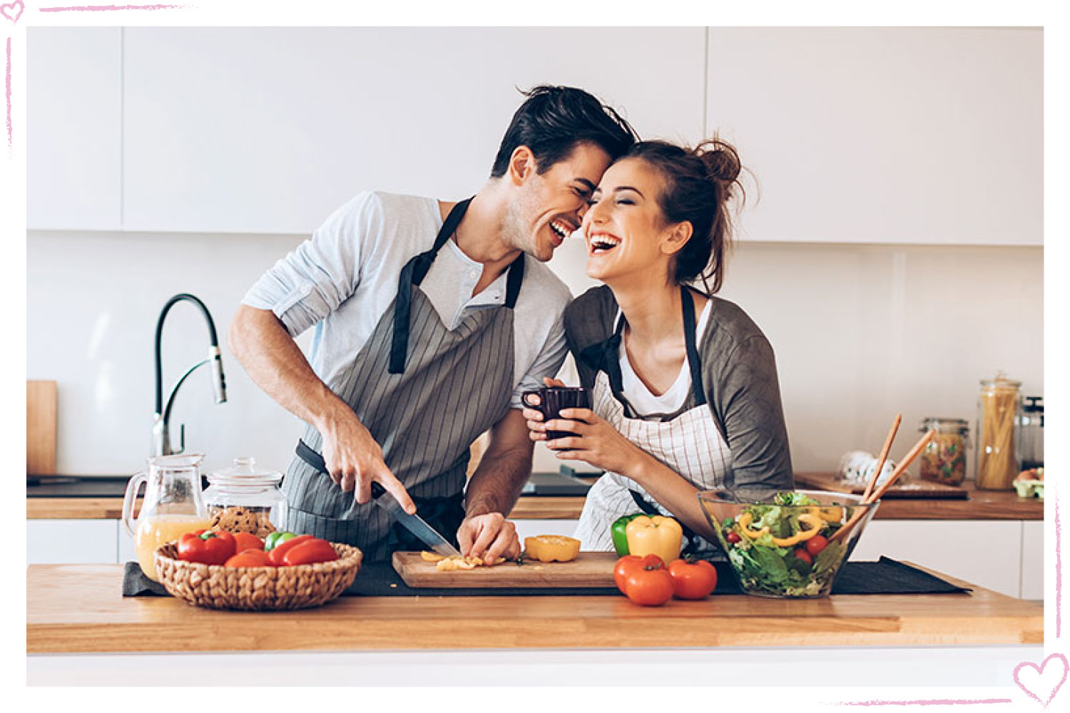 how to surprise your girlfriend cooking class
