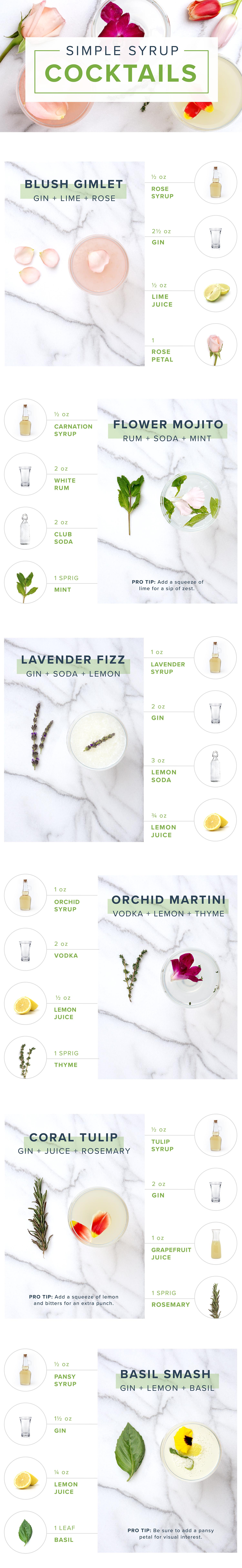 simple syrup recipes IG