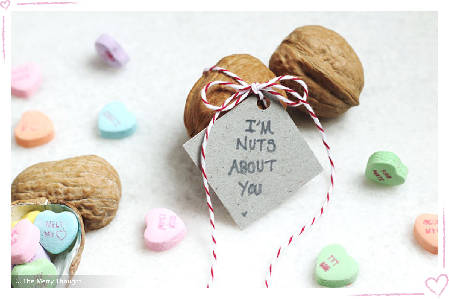 how to surprise your boyfriend I'm nuts about you walnut