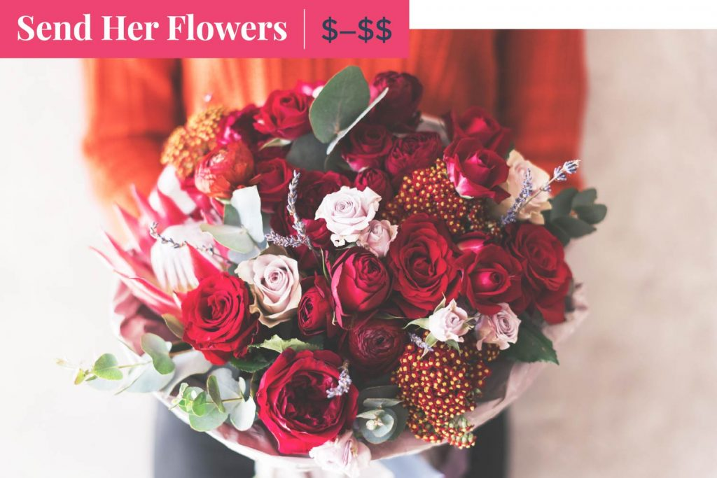 send her flowers on mother's day