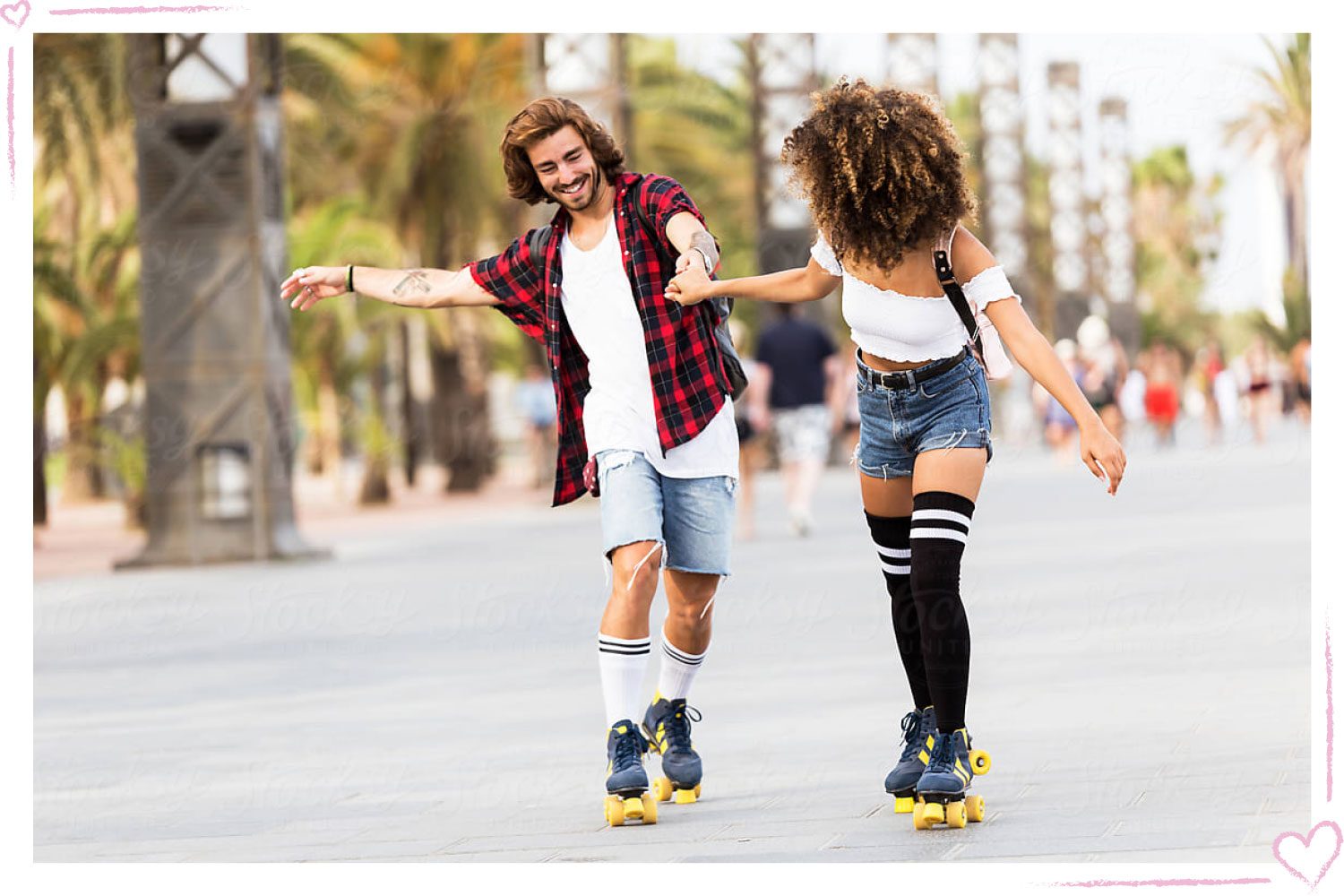 how to surprise your girlfriend roller skating