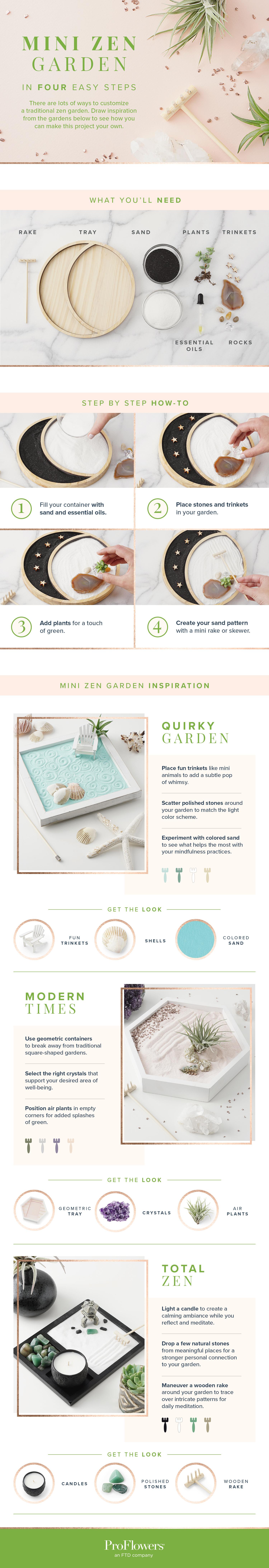 mini zen garden styling tips