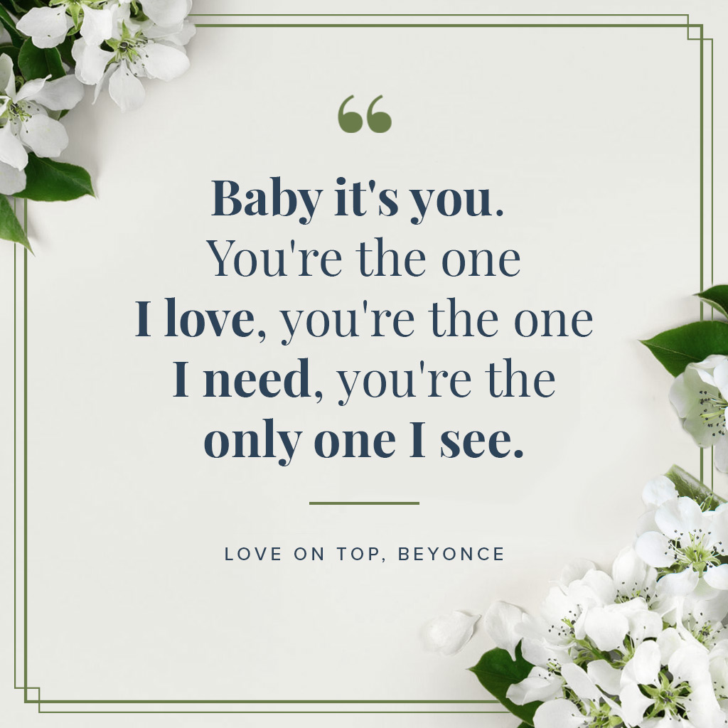 Meaningful i love you quotes